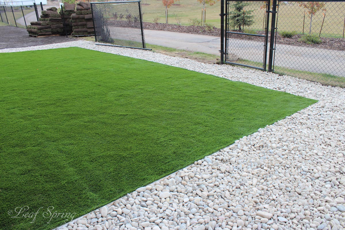 Synthetic Lawns By Leaf Spring Landscaping Edmonton